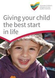NQF postcard for families - acecqa