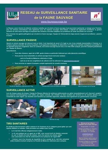 Suivi sanitaire - Portail environnement de Wallonie