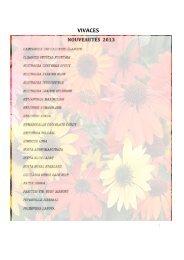 catalogue vivaces 2013
