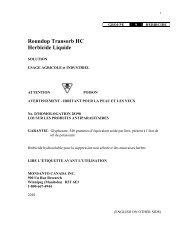 ROUNDUP TRANSORB HERBICIDE - Monsanto