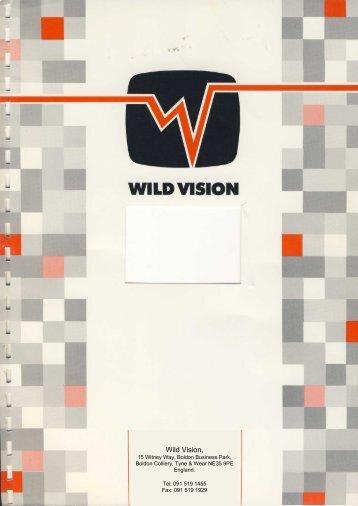 Wild Vision Hawk V9 MkII User Guide