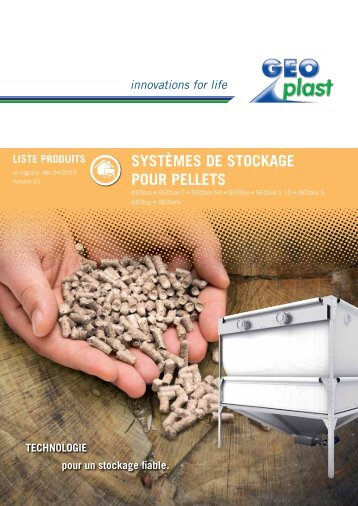 SyStèmeS de Stockage pour pelletS - Chauffage-poeles-a-granules ...