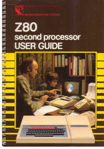 Z80 second processor User Guide