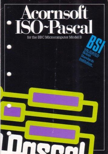 Acornsoft ISO-Pascal