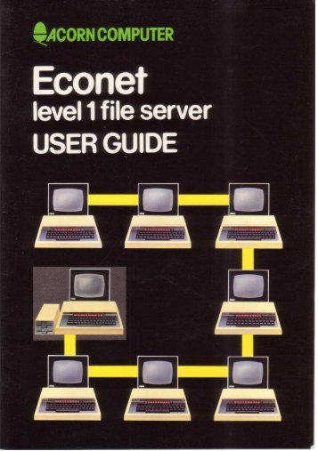 Acorn Econet Level 1 file server User Guide