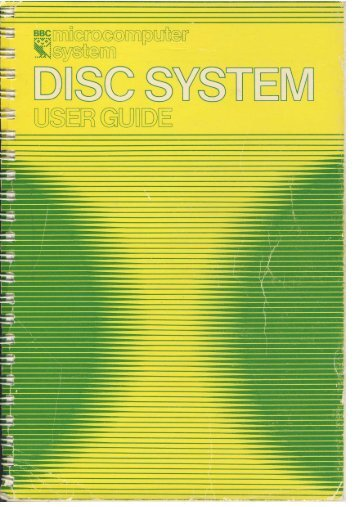 Disc System User Guide (1982).