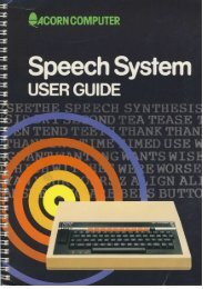 Speech System User Guide