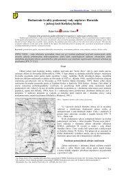 HODNOTENIE KVALITY PODZEMNEJ - Acta Montanistica Slovaca