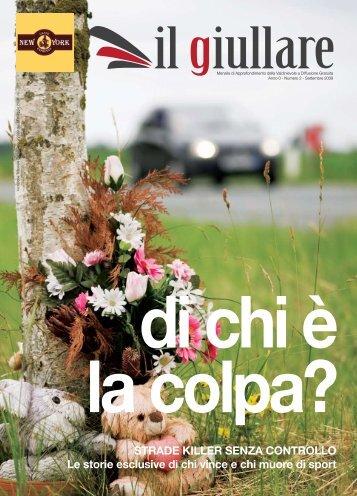 STRADE KILLER SENZA CONTROLLO Le storie ... - Il Giullare