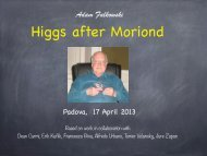 Higgs after Moriond - Infn