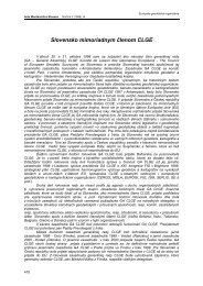 Slovensko v CLGE - Acta Montanistica Slovaca