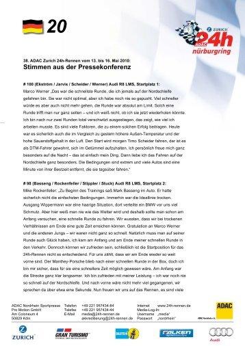 24h Vorlage Presseinfo D - mit Briefbogen - 24 Stunden Rennen ...
