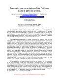 Anomalie en Mer Baltique - Ambre jaune - Free - Page 2