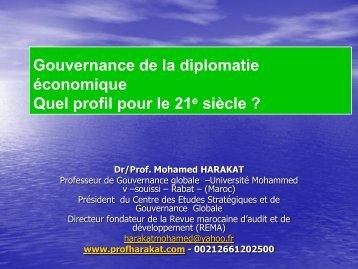 Gouvernance de la diplomatie économique Quel profil pour ... - cafrad