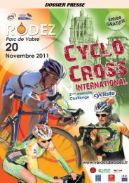 DOSSIER PRESSE - Vélo Club Ruthénois