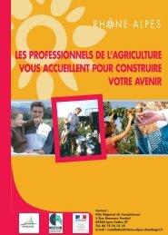 les installations - Chambres d'Agriculture de Rhône-Alpes