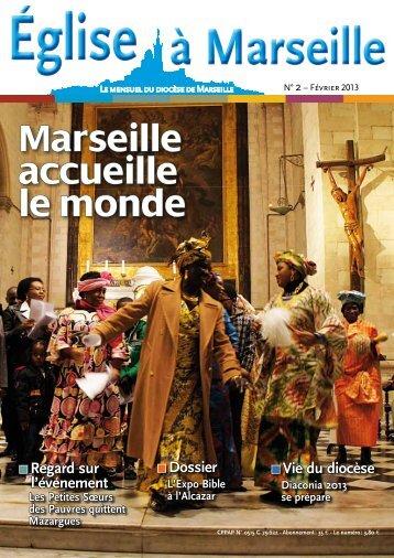 Marseille accueille le monde - Diocèse de Marseille