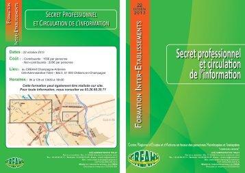 Télécharger le programme - CREAHI Champagne-Ardenne
