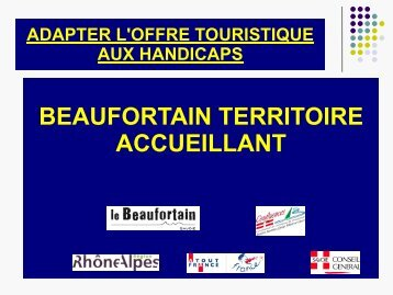 BEAUFORTAIN TERRITOIRE BEAUFORTAIN ... - Atout France
