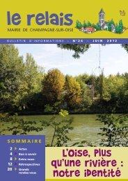 1ère partie - Champagne-sur-Oise