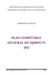 plan comptable general de djibouti 2012 - Ministère de l'économie ...