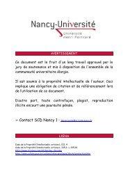 LA FORMATION CONTINUE CHEZ LES CHIRURGIENS-DENTISTES