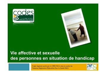 Diaporama de présentation du projet vie affective et sexuell...