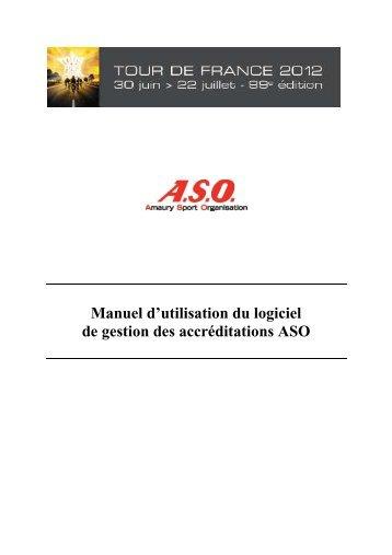 Procédure d'accréditation 2012 - Tour de France