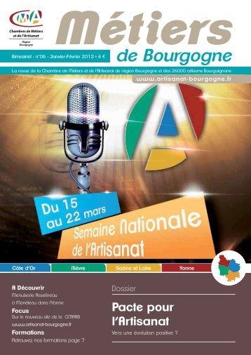 de Bourgogne - cma-bourgogne.fr