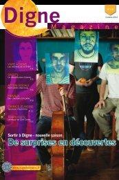 De surprises en découvertes - Ville de Digne-les-Bains