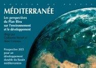 Les perspectives du Plan Bleu sur l'environnement et le ... - Ademe