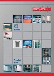Scholl Preisliste 2008 Umschlag.qxd - Schmitz & PETERS GmbH