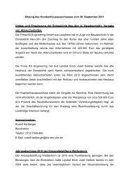 Sitzungsbericht vom 30.09.2011 - Landkreis Neu-Ulm