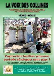 L'agriculture familiale paysanne peut-elle développer notre ... - l'Ired