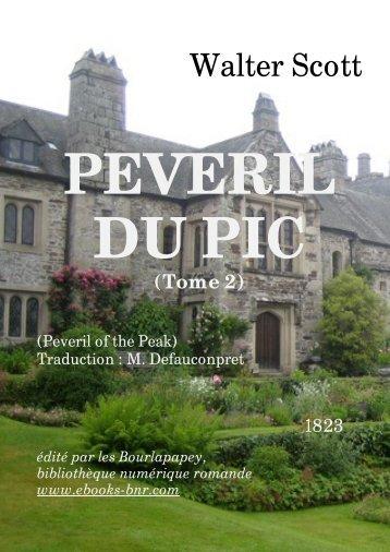 PEVERIL DU PIC (TOME 2) - Bibliothèque numérique romande