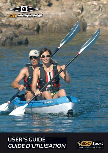 GUIDE D'UTILISATION - Bic Kayaks