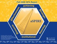Fall 2009 - San Jacinto College (Administrative Services)