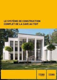 Le système de construction compLet de La cave au toit - Xella