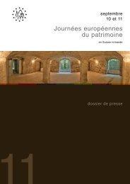 Journées européennes du patrimoine - Etat du Valais