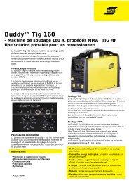 Buddy™ Tig 160 - Stucki Soudure SA