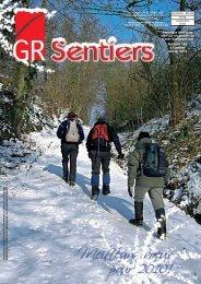 télécharger le numéro 185 de GR Sentiers ici - Les Sentiers de ...