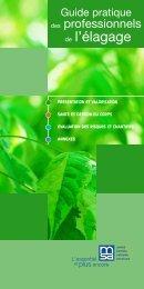 Guide pratique élagage - Santé et Sécurité en agriculture - MSA