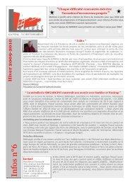 Newsletter Hiver 09-10 - Soridec