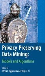 Privacy Preserving Data Mining - ADReM