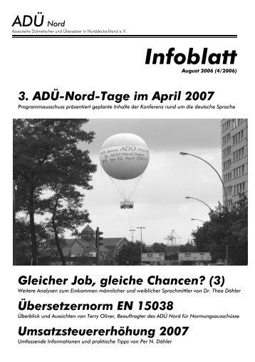 4/2006 - Infoblatt - ADÜ Nord