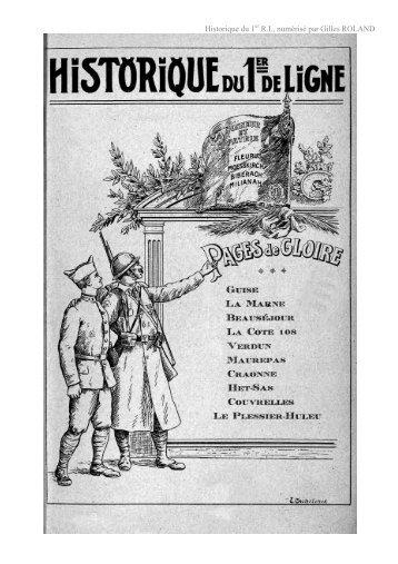Historique du 1 R.I., numérisé par Gilles ROLAND - Pages 14-18