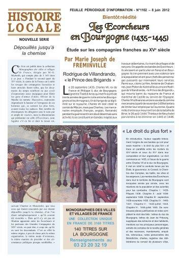 Les Ecorcheurs en Bourgogne - Le Livre d'histoire - Lorisse