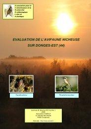 evaluation de l'avifaune nicheuse sur donges-est - ACROLA