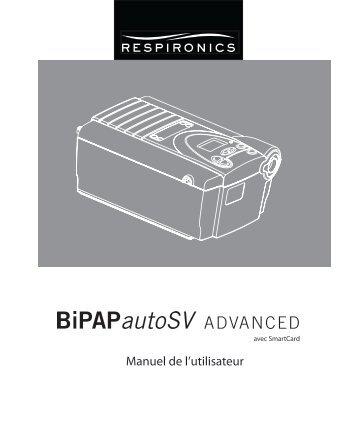 Une longueur d'avance - BiPAP autoSV Advanced, Philips