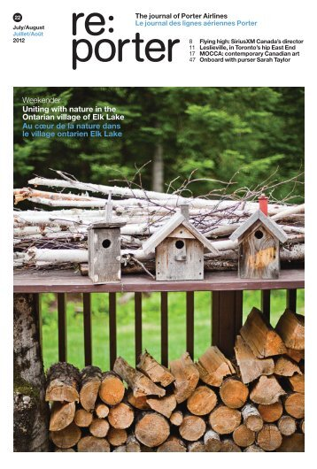 Weekender Uniting with nature in the Ontarian ... - Sustainable.TO